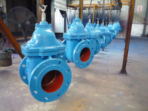 Ductile Iron Metal Seated Gate Valve pictures & photos