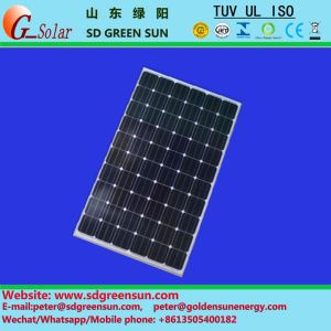 260W Poly Solar Cell Panel with TUV/UL/Inmetro Certification pictures & photos