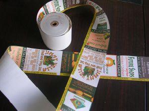 Cash Register Paper Rolls (80x80mm, 80x70mm, 57x70mm, 57x50mm) pictures & photos