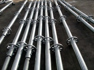 Ringlock Scaffolding Standard Vertical for Construction pictures & photos