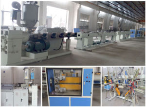 Pex PP PE Pipe Extrusion Line with CE and ISO pictures & photos