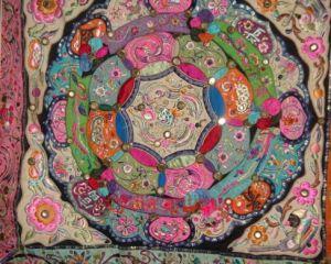 Antqiue Miao Minority Embroidery