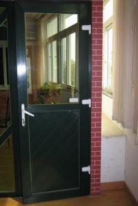 PVC Casement Door pictures & photos