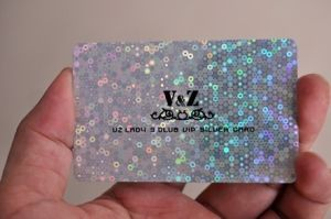 Quality PVC Card with Laser Printing