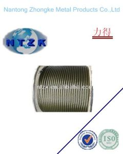 Ungalvanized Steel Wire Rope 6*15+7FC, Diameter 5mm-36mm pictures & photos