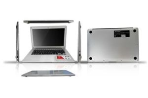13.3 Inch WVGA LED Screen Dual Core Laptop with Linux or Windows 7