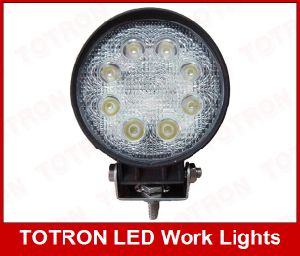 24V 12V 24W Round LED Work Light pictures & photos