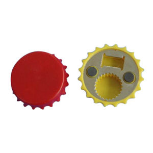 Plastic Bottle Opener with Magnet (HB4201)