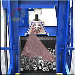 Tumblast Type Shot Blasting Machine pictures & photos