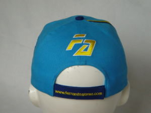 Cotton Baseball Cap with Hook & Loop Strap pictures & photos