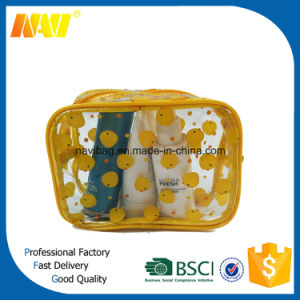 UV Printing Transparant Toiletry Bag pictures & photos