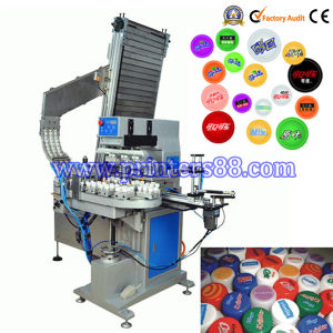 Four Color Automatic Plastic Cap Pad Printer pictures & photos