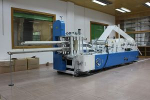 Fully Automatism Single Row Embossing Napkin Paper Folding Machine pictures & photos