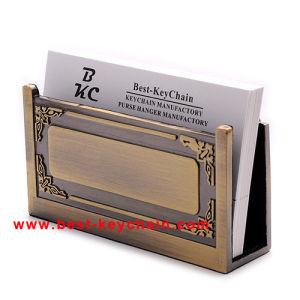 Souvenir Table Decoration Metal Desktop Gift Card Holder (BK53361) pictures & photos