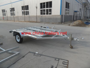 Hot DIP Galvanized Motercycle Trailer Tr0106 pictures & photos