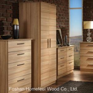 Plain Melamine Bedroom Furniture 2 Door Wardrobe (WB48) pictures & photos