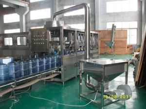Washer-Filler-Capper 3in1 Monobloc 900-1000bph 5 Gallon Water Filling Machine (QGF-1000) pictures & photos