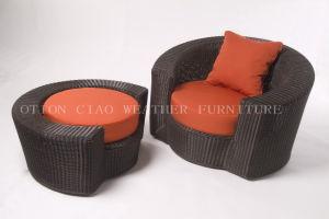 Moon Armchair & Ottoman (GS-118 Series)