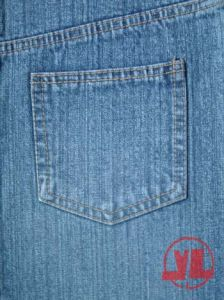 100%Cotton, Cross-Hatch Denim (376)