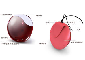 Fashion Design Portable and Necklace Air Purifier (GL-128) pictures & photos