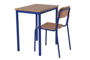 Popular Single Student Desk & Chair (GM003 &GM002) pictures & photos