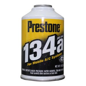 Prestone Refrigerant Gas R134A, Auto Air Conditioner Refrigerant