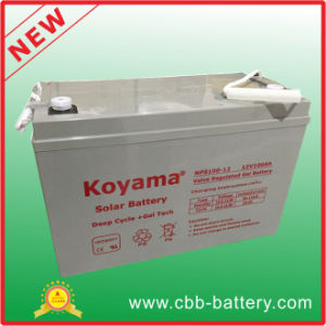 Solar Battery AGM/VRLA Lead Acid Battery 12V100ah for Electric Starting pictures & photos