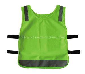Child High Visibility Reflecitve Safety Vest (DFV1096) pictures & photos