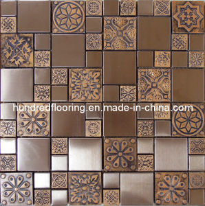 Wall Tile Stainless Steel Metal Mosaic (SM203) pictures & photos