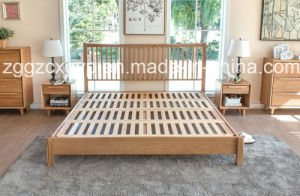 Bedroom Wood Bed/Modern Furniture Bedroom Wood Bed/High Quality Wooden Bed Cx-Wb119 pictures & photos