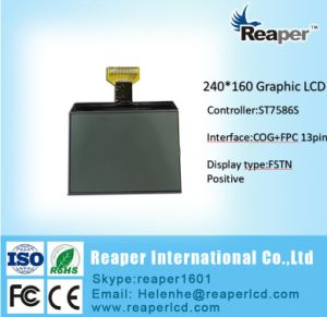 FSTN Graphic 240X160 Monochrome LCD Module for Industrial / Medical / Equipment pictures & photos