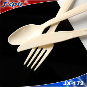 Reusable Plastic Cutlery Jx172 pictures & photos