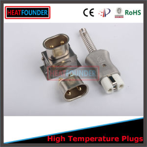Aluminum Body Electrical Silicone Plug with Ce Certification pictures & photos
