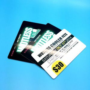 Laser numbering 13.56MHz MIFARE Classic 4K RFID Smart Card pictures & photos
