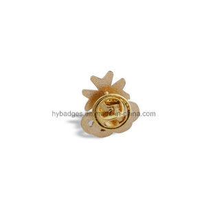 Gloss Gold Lapel Pin, Irregular Metal Badge (GZHY-LP-021) pictures & photos