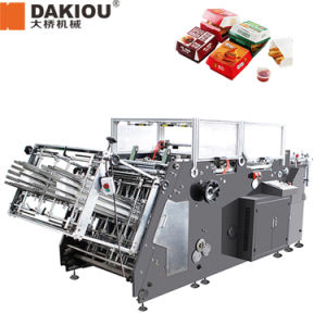 Paper Box Packaging Machine with Iron Wire pictures & photos