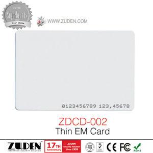 125kHz Em Chip Access Control ID Smart Card pictures & photos