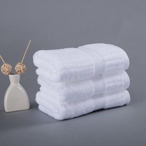 Cotton 16′s Terry Hotel Guest Room Bath Towel Set 600GSM pictures & photos
