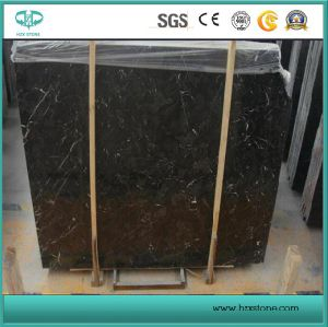 Polished/Honed/Bushhammered/Customized/Dark Emperador Marble Slab for Flooring/Wall Tile/Countertop/Kitchentop pictures & photos