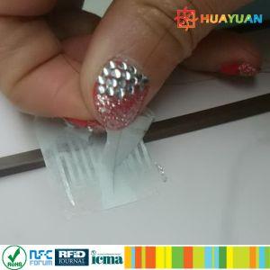 Custom anti-fake Tamper proof RFID H3 UHF label inlay pictures & photos