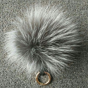 Fluffy Colorfurl Real Fox Fur Pompon pictures & photos