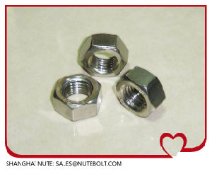 Hexagon Head Nuts DIN 934-1987 pictures & photos