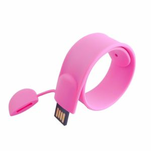 Silicone Bracelet Slap Band 32GB Thumb Drive USB Price pictures & photos