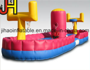 Inflatable Basketball Hoop Goal Shooting with Bungee Running pictures & photos