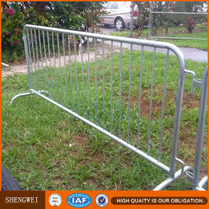 Metal Crowd Control Portable Road Safety Barrier pictures & photos