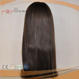 Human Hair Dark Brown Color Wig (PPG-l-0151) pictures & photos
