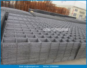 Australia and New Zealand SL62 SL72 SL82 SL92 Welded Concrete Reinforcing Wire Mesh Panel Factory / Ribbed or Deformed Steel Bar Reinforcement Mesh pictures & photos