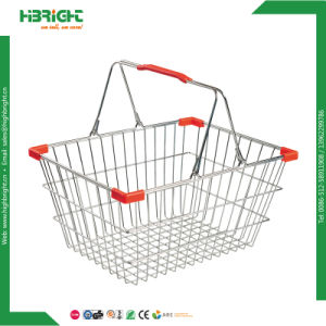 Grocery Store Wire Shopping Baskets pictures & photos