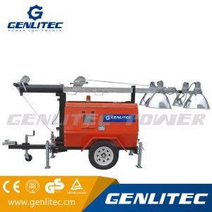 Genlitec Power Kubota Generator Diesel Mobile Light Tower (GLT4000-9M) pictures & photos