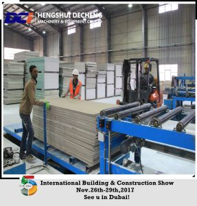 Production Line for Gypsum Board Dci Machinery pictures & photos